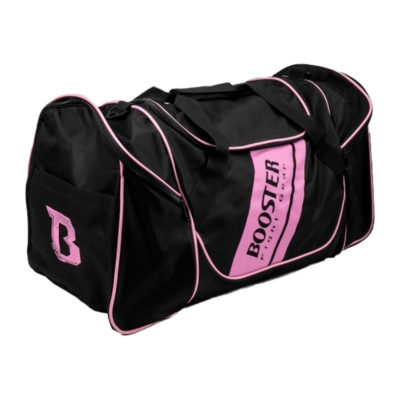 Booster team duffel bag Zwart/Roze