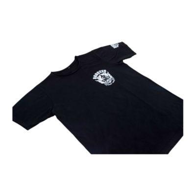 T-shirt Booster flying knee Zwart